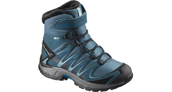 Salomon Junior Xa Pro 3D Winter TS CSWP Shoes Mallard Blue/Reflecting Pond/Mykono